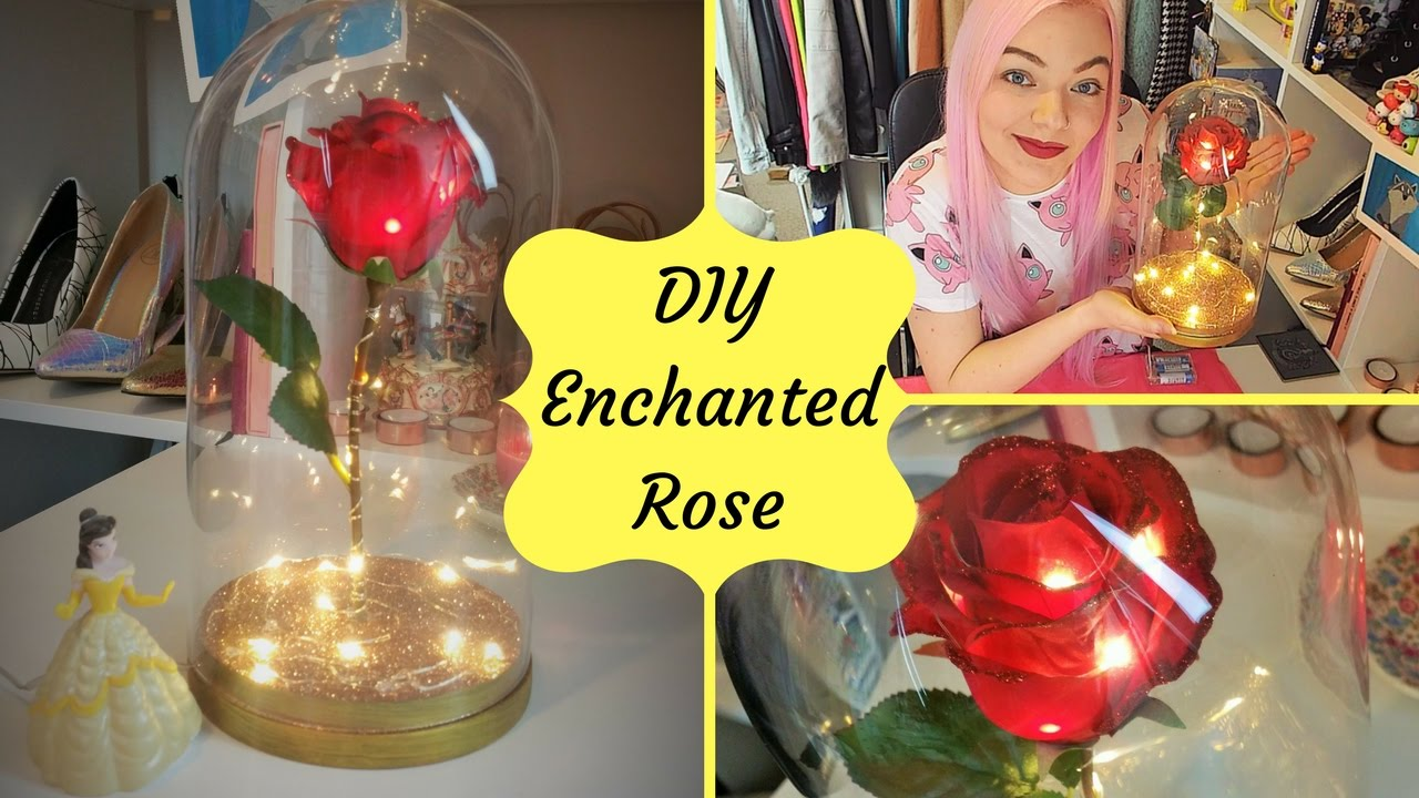 Diy Enchanted Rose Beauty The Beast