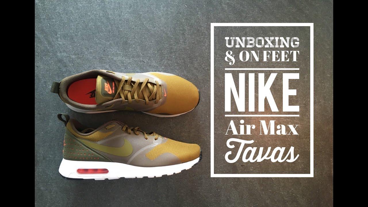 Nike Air Max Tavas 'Olive Flak' | Nike air max, Nike air
