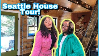 Seattle Airbnb House Tour! | First Tinyhouse Experience