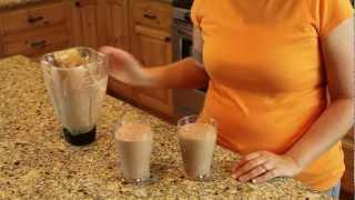 Chocolate Peanut Butter Milkshakes