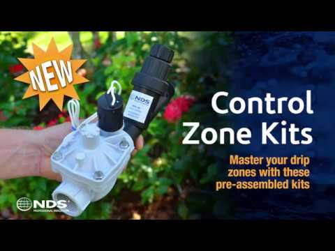 NDS Control Zone Kit with Pressure Regulating Filter