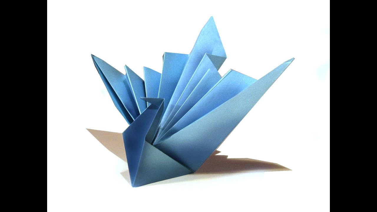 Easy Origami Bird - Origami Tutorial - How to make an easy ... - photo#19