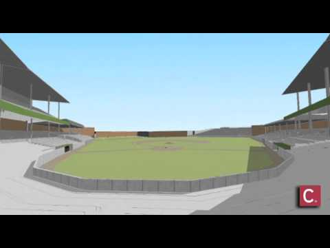 3D Animation of Crosley Field
