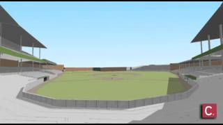 3D Animation of Crosley Field