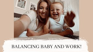 BALANCING WORK AND BEING A MUM