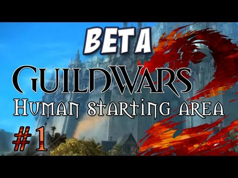 Yogscast - Guild Wars 2: Human Part 1 - Starting Zone and Cutscene