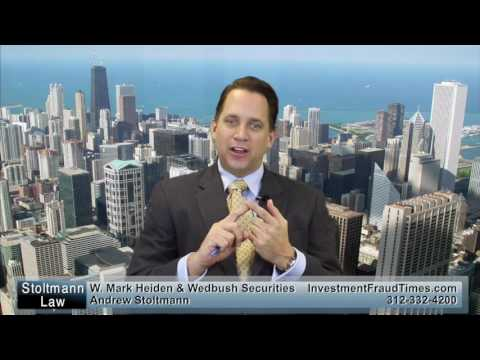 W. Mark Heiden & Wedbush Securities Investment Losses