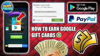 HOW TO EARN GOOGLE GIFT CARDS    Happy Fishman App    FREE PAYPAL MONEY INSTANTLY    Tricks Hoster