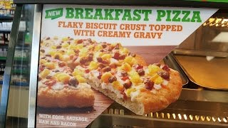 7-Eleven Breakfast Pizza Review - WE Shorts