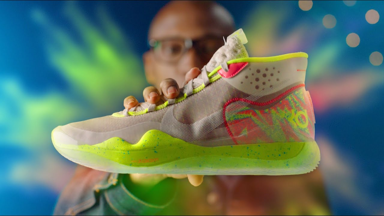 9a2132436d1a FIRST LOOK  The NIKE KD 12 Hands-On 2019 Sneakers Review - YouTube