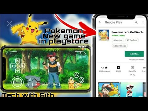 How To Download New Pokemon Games In Play Store! Hidden Pokemon Latest Games