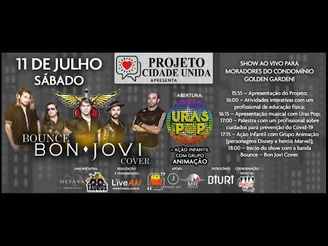 Assista: Estúdio Berger - Banda Bounce - Bon Jovi Cover