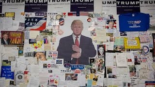 Tour Donald Trump's Bare-Bones Campaign Headquarters