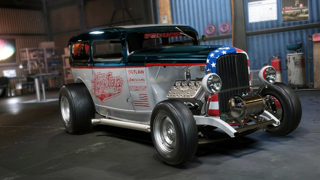 Need For Sd Payback Ford Roadster Drag Build