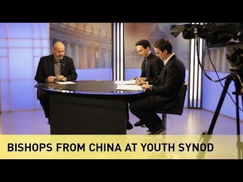 Bishops from China at Youth Synod