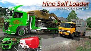 Hino Self Loader angkut bego || Ets2 truk indonesia