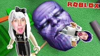 Roblox: THANOS FRISST KAAN & NINA MIT TABASCO! Thanos isst alles