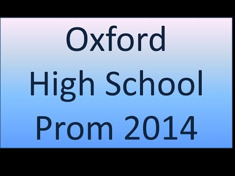 Oxford HS Prom 2014
