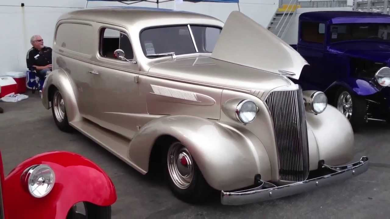 1937 Chevrolet panel truck  YouTube