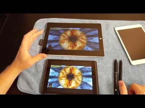 HP Pro Tablet 608 Detailed Look and comparison to Surface 3