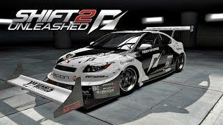 NFS Shift 2 - Drag Racing / Scion.
