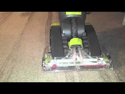 Hoover Dual Power Pro First Test