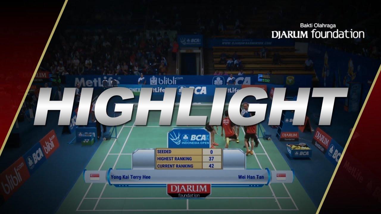 Manu Attri Ashwini Ponnappa IND VS Yong Kai Terry Hee Wei Han