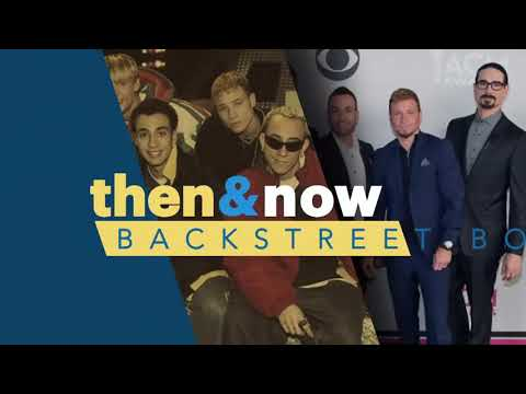 Then and Now - Backstreet Boys on People TV