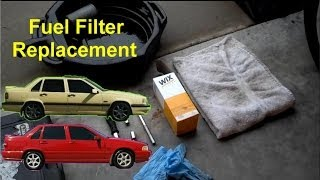 How to replace the fuel filter on the FWD P80 cars, replacement, Volvo 850,  S70, V70 - VOTD - YouTube | Volvo S70 Fuel Filter Location |  | YouTube