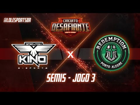 Circuitão 2018: OPK X RDP (Jogo 3) - Semis - 2ª Etapa