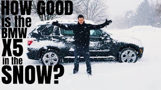 How Good is the BMW X5 in the SNOW ?
