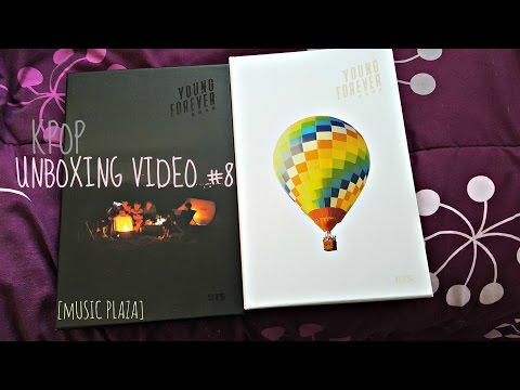 KPOP UNBOXING #8 - BTS's Young Forever (MUSIC PLAZA)