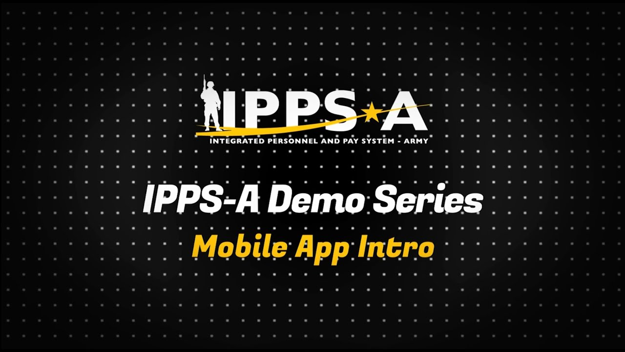 This is the first installment of the IPPS-A Mobile App Demo Series. This video gives an overview of the different view control icons, as well and demonstrates how to log in to the app and customize your homepage.