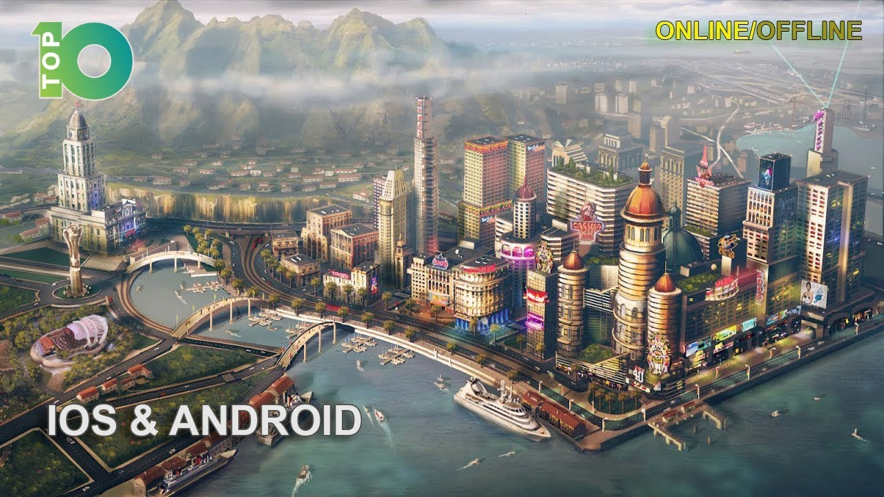 10 Best City Building Games For Ios And Android Online Offline Youtube