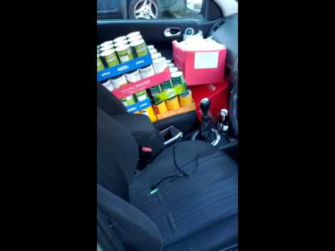 Chase the Can 2012 - Chimera Nottingham - post-shopping trip