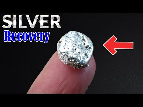 How To Silver Recovery From Electrical Equipment Circuit Breaker X-ray Film | Todays Silver Dollar