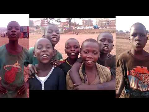 """Thank You"" from the Children of Kisenyi Slum"