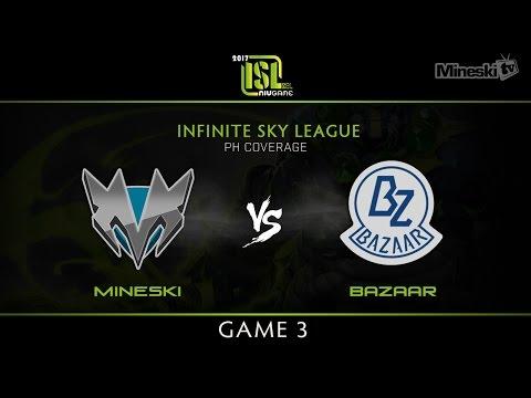 Mineski vs Team Bazaar | Game 3 | Infinite Sky League | PH Coverage