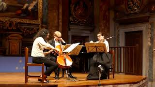 MAX REGER STRING TRIO N.1 OP.77b - LARGHETTO