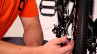 Инструкция. Сборка велосипеда. Часть 7. Задний переключатель(В этом видео мы расскажем как правильно настроить задний переключатель. Подписывайтесь на канал ;) Заходите..., 2016-03-30T06:51:35.000Z)