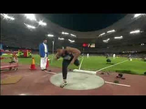 Athletics - Women's Shot Put Final - Beijing 2008 Summer Olympic Games