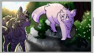 [warrior cats speedpaint] love at first sight