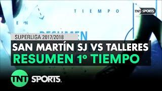 Video Gol Pertandingan San Martin San Juan vs Talleres