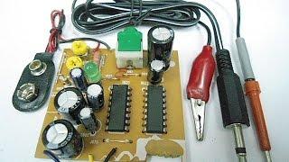 Amplificador y trazador de señales de 3 + 3 Watts.