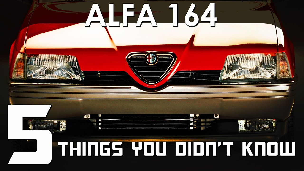 Download 5 Things You Didn't Know About The Alfa Romeo 164