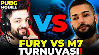 FURY VS M7 TURNUVASI !! PUBG Mobile