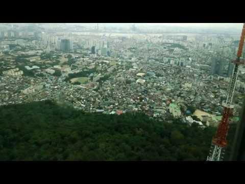 with Googleglass, Seoul Tower