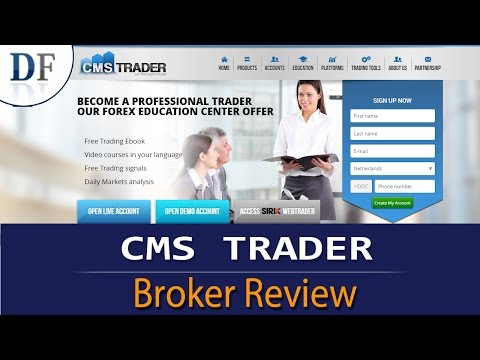 CMS Trader Review - 2018  By DailyForex.com