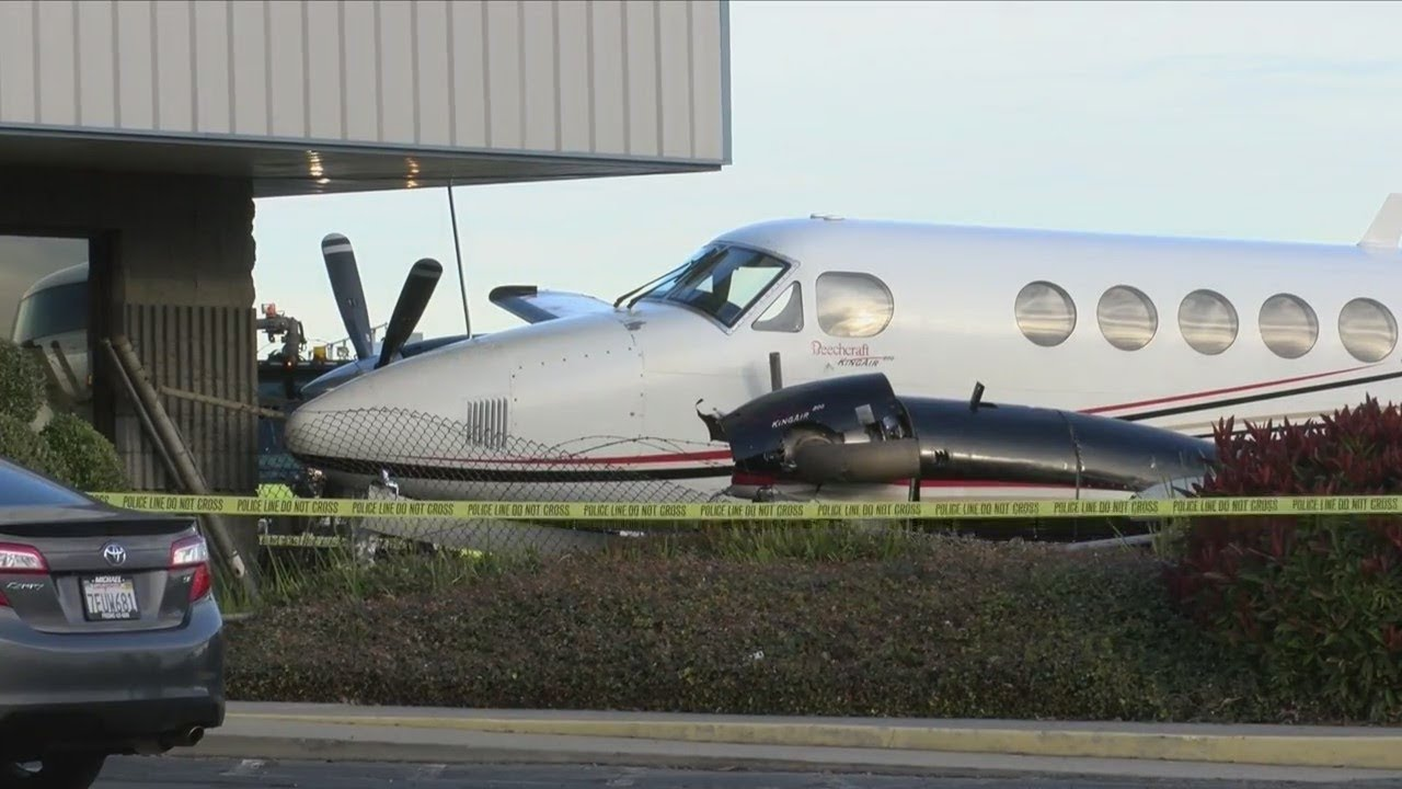 17-year-old steals airplane and crashes at Fresno Yosemite International Airport