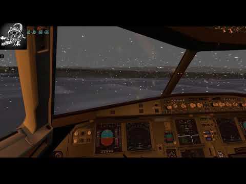 (X-Plane 11)World Airports-US-Alaska//Aniak (PANI) to Ted Stevens Anchorage (PANC)//JarDesigns A320